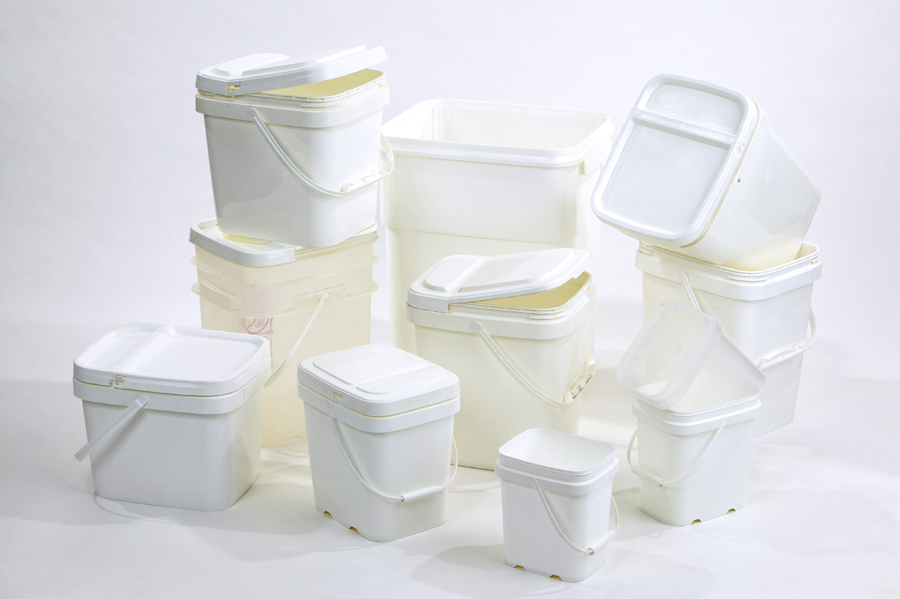 Plastic Pails And Buckets Of Round Square And More