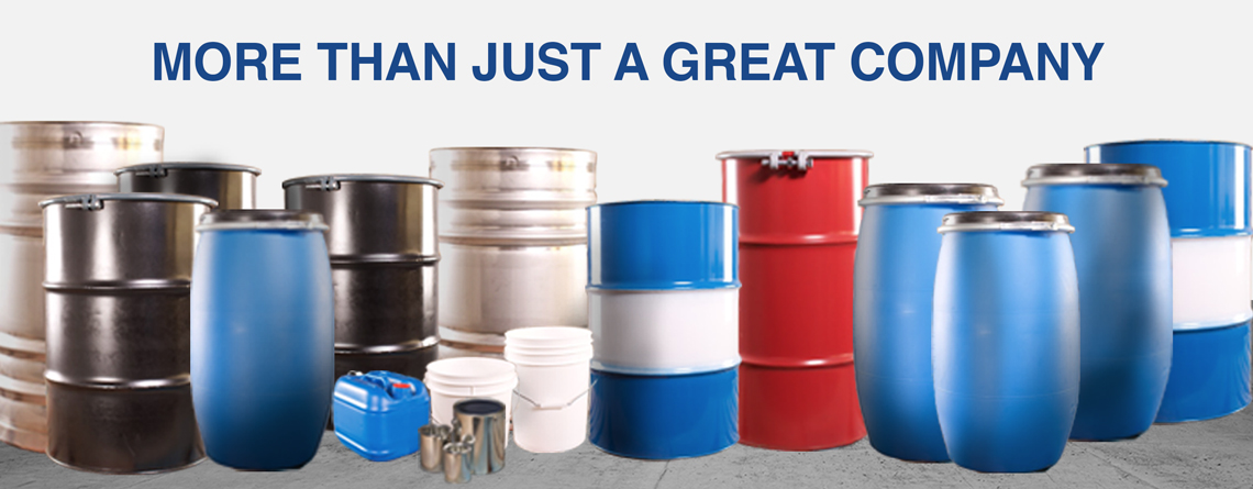 Drums, IBCs, Pails, Cans, Bottles, LiquiFolds