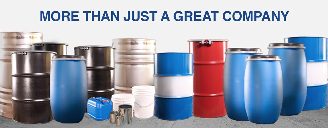 Drums, IBCs, Pails, Cans, Bottles, LiquiFolds
