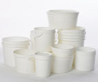 Plastic Pails - Small Rounds